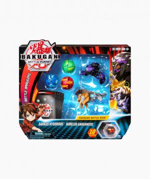 Spin Master Board Game Bakugan Darkus Hydorous, Aurelus Garganoid, battle pack