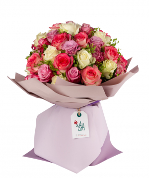 """Bouquet """"Findel"""" with roses"""