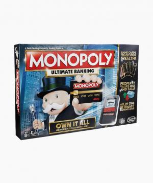 Hasbro Սեղանի Խաղ Մոնոպոլիա` Բանկային Քարտերով