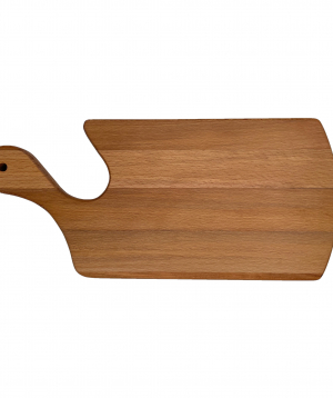 Eco board `WoodWide` with curved handle