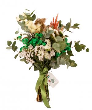 Ծաղկեփունջ «Դուենիաս» դաշտային ծաղիկներով