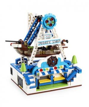Constructor `CaDA` pirate ship
