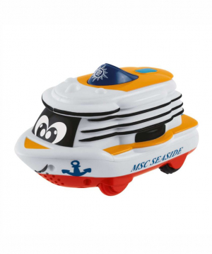 Toy `Chicco` boat, musical