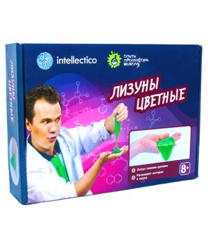 Հավաքածու «Intellectico» գիտական փորձեր գունավոր սլայմ