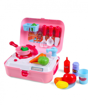 """Collection """"Onshine"""" kitchen, with a suitcase"""