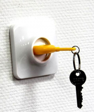 Holder `Creative Gifts` for keys, nozzle