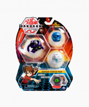 Spin Master Board Game Starter Pack Bakugan Darkus Gorthion, starter pack