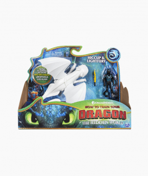 Spin Master Մուլտհերոսների Արձանիկներ Dreamworks Dragons «Night Fury and Hiccup»