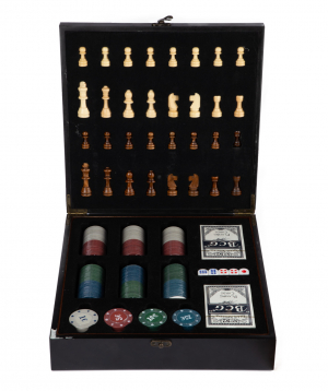 Collection `Creative Gifts` poker-chess
