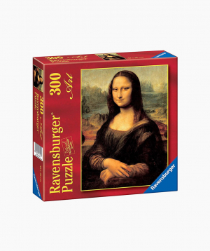 Ravensburger Puzzle Leonardo da Vinci - Mona Lisa 300p