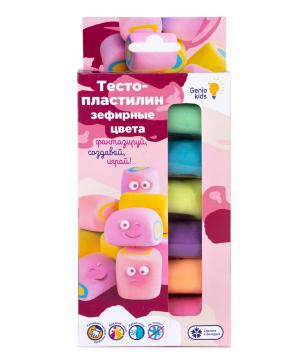 Plasticine for kids «6 mashmelow colors»