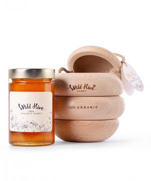 """Honey """"Wild Hive"""" 100% Certified Organic 430g"""