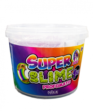 """Collection """"Nice Group"""" for making slime, in a container"""