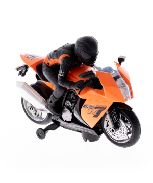 Toy motorcycle, musical