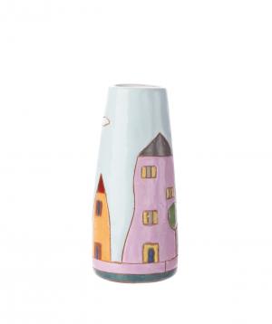 "Vase ""Nuard Ceramics"" for flowers, City, small"