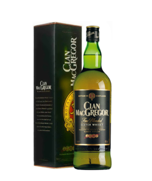 Whiskey `Clan MacGregor`in a box 700 ml