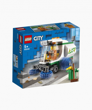 Lego City Կառուցողական Խաղ «Փոշեկուլ-մեքենա՝ փողոցների մաքրման համար»