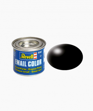 Revell Paint black, silk-matt