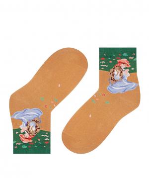 """Socks """"Zeal Socks"""" little girl in a field"""