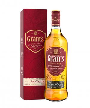 "Whiskey ""Grant՝s Triple Wood"" 700 ml, in a box"