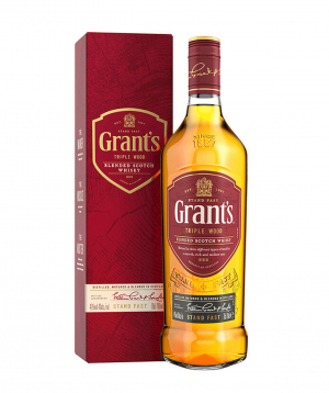 Whiskey `Grant՝s Triple Wood` 700 ml, in a box