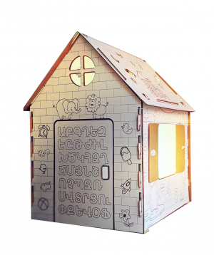 """House """"Tun Tunik"""" cardboard"""