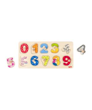 Խաղալիք «Goki Toys» փազլ սովորիր հաշվել
