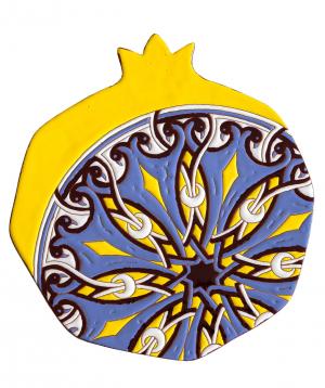 Ափսե «ManeTiles» պանրի համար, դեկորատիվ կերամիկական №13