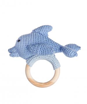Խաղալիք «Crafts by Ro» չխկչխկան դելֆին №10