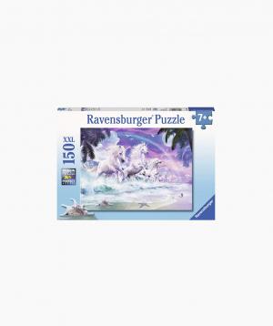 Ravensburger Փազլ «Միաեղջյուրները լողափում» 150p