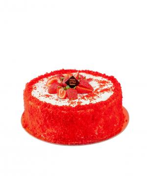 Cake `Moms Little Bakery` red velvet