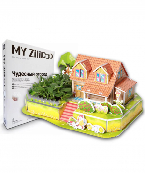 3D Puzzle My Zilipoo - My wonderful garden with natural plants