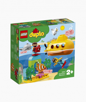 Lego Duplo Կառուցողական Խաղ «Արկածային Ճանապարհորդություն Սուզանավով»