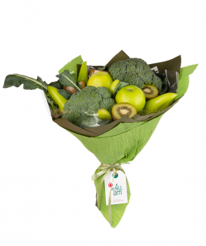 """Composition """"Guinea"""" with fruits and vegetables"""