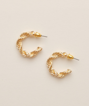 Earrings `Rougecoco` Aurora small