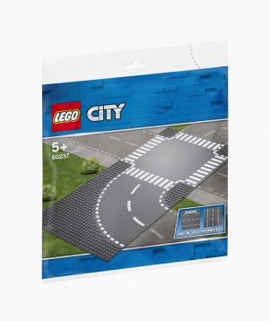 Lego City Building Kit Curve and Crossroad