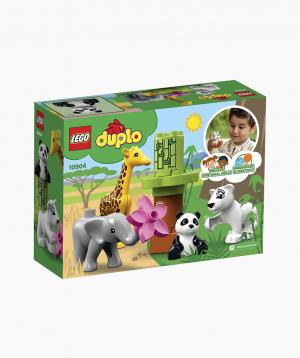 Lego Duplo Կառուցողական Խաղ Փոքրիկ Կենդանիներ