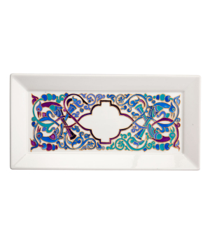 "Plate ""Taraz Art"" decorative, ceramic №18"