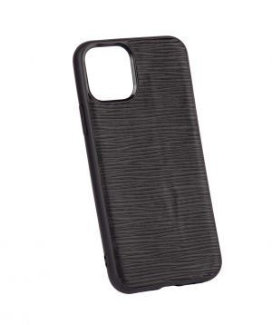 """Case """"Monarch"""" for phone, silicon, with a combination of genuine leather №1"""