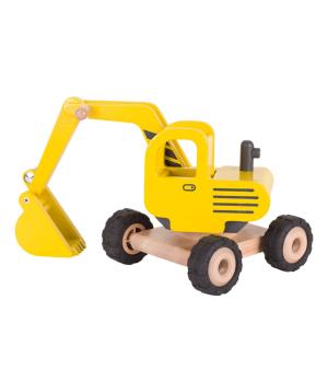 Toy `Goki Toys` excavator