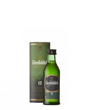 Վիսկի Glenfiddich 12 Years 0.05լ