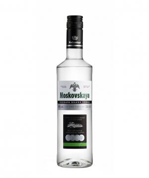 Vodka `Moskovskaya Osobaya Silver` 500 ml