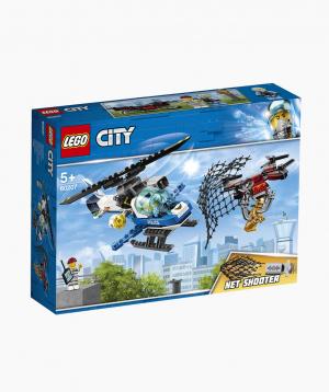 Lego City Կառուցողական Խաղ «Օդային Ոստիկանություն. Դրոնների Հետապնդում»