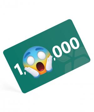 Նվեր քարտ  1,000,000