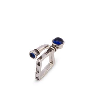 """Ring """"Kara Silver"""" Winery (square)"""