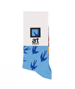 "Socks  ""Art socks"" Swallows"