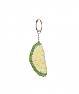 """Pendant """"Crafts by Ro"""" lime №1"""