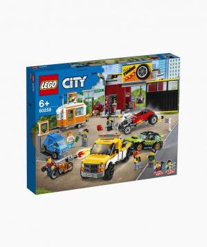 Lego City Կառուցողական Խաղ «Ավտոմեքենաների թյունինգ-կենտրոն»