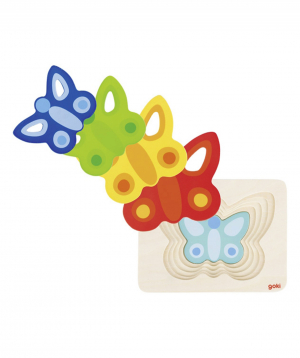 Toy `Goki Toys` puzzle butterfly
