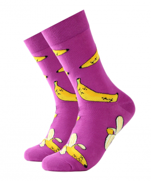 """Socks """"Zeal Socks"""" banana"""